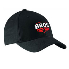 Black Bros baseball cap with logo