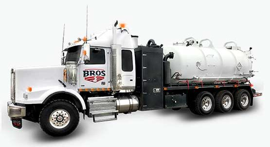 The Tridem Axel Combo Vac Truck